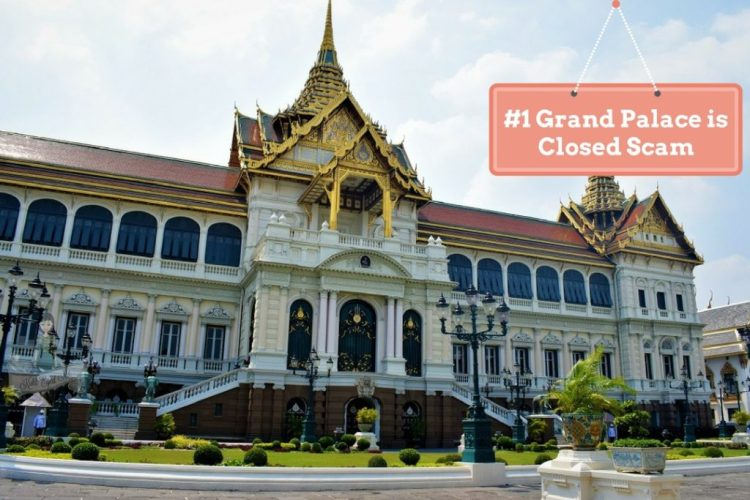 The Grand Palace Scams in Thailand