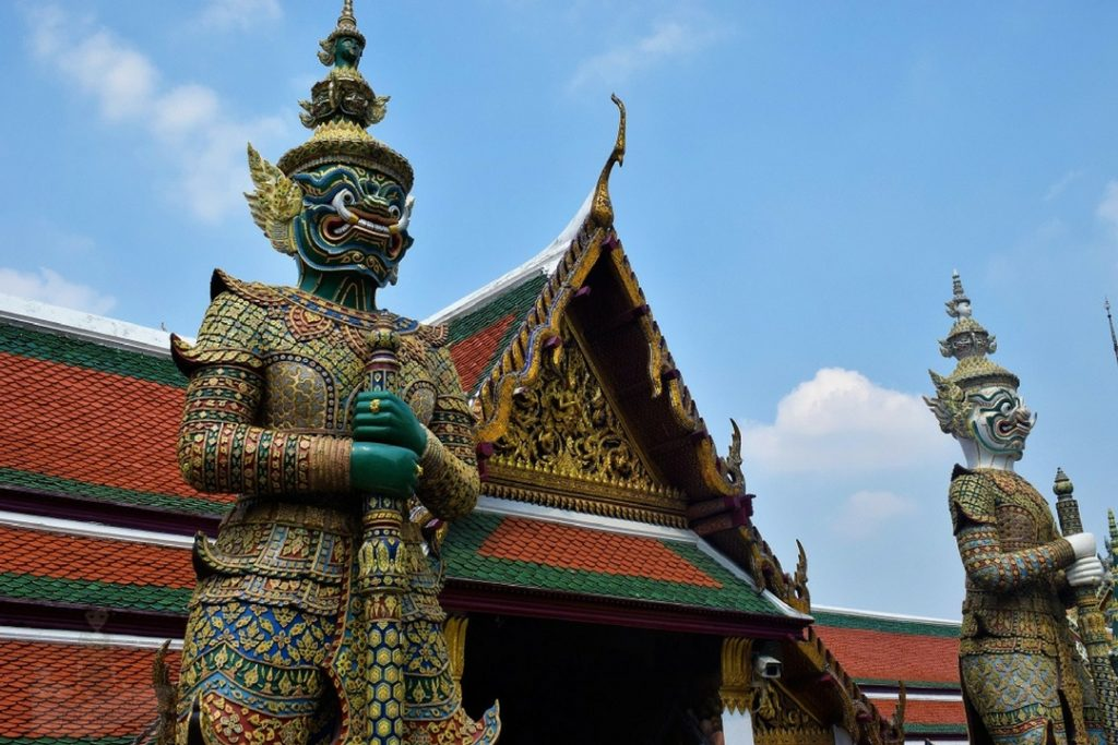 The Grand Palace Demon Guardians