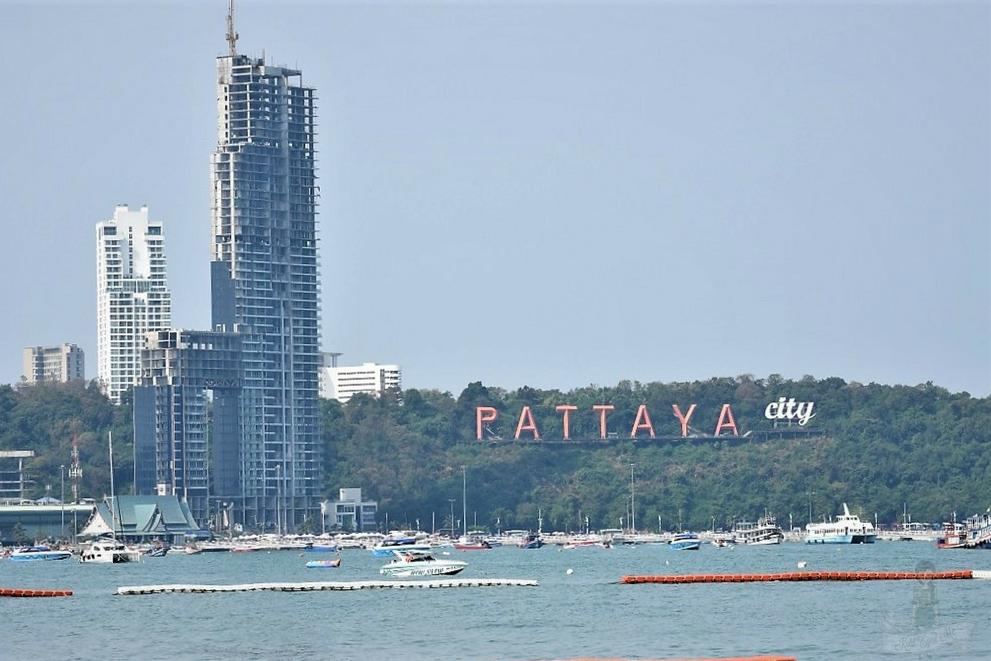Pattaya Beach - Pattaya Sign - Pattaya city Image