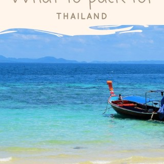 What to pack for Thailand - Thailand Packing List