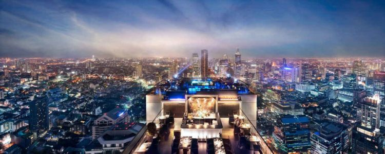 Vertigo Moon Bar, Bangkok