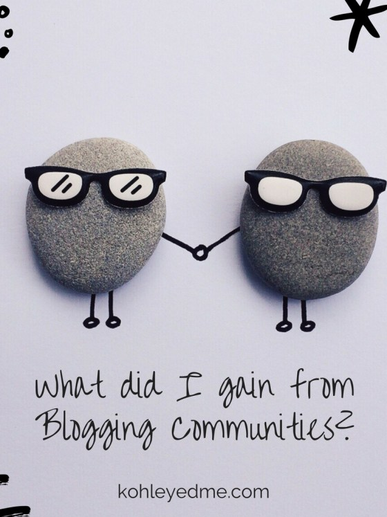 Blogging Communities kohleyedme.com