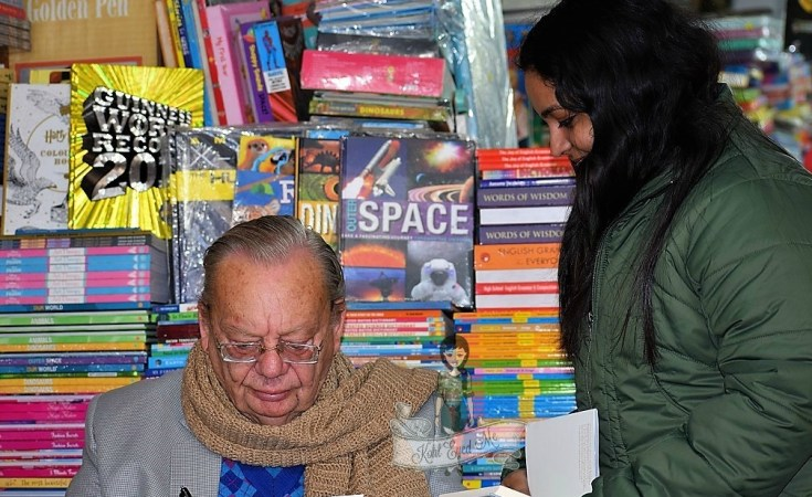 Ruskin Bond Mussoorie Cambridge Book Depot