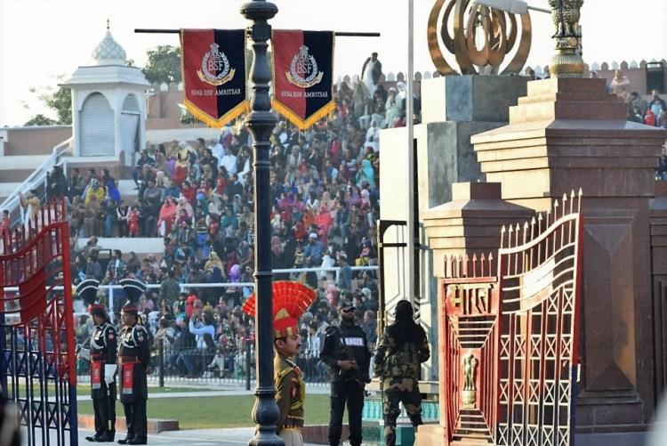 Wagah Border Retreat Ceremony Amritsar India kohleyedme.com