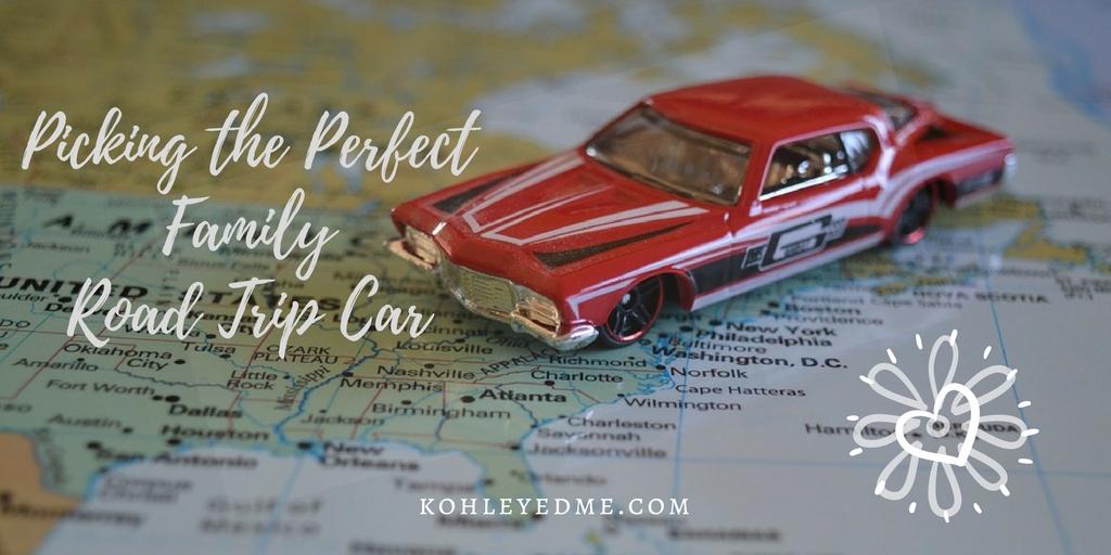 how choose perfect family road trip car