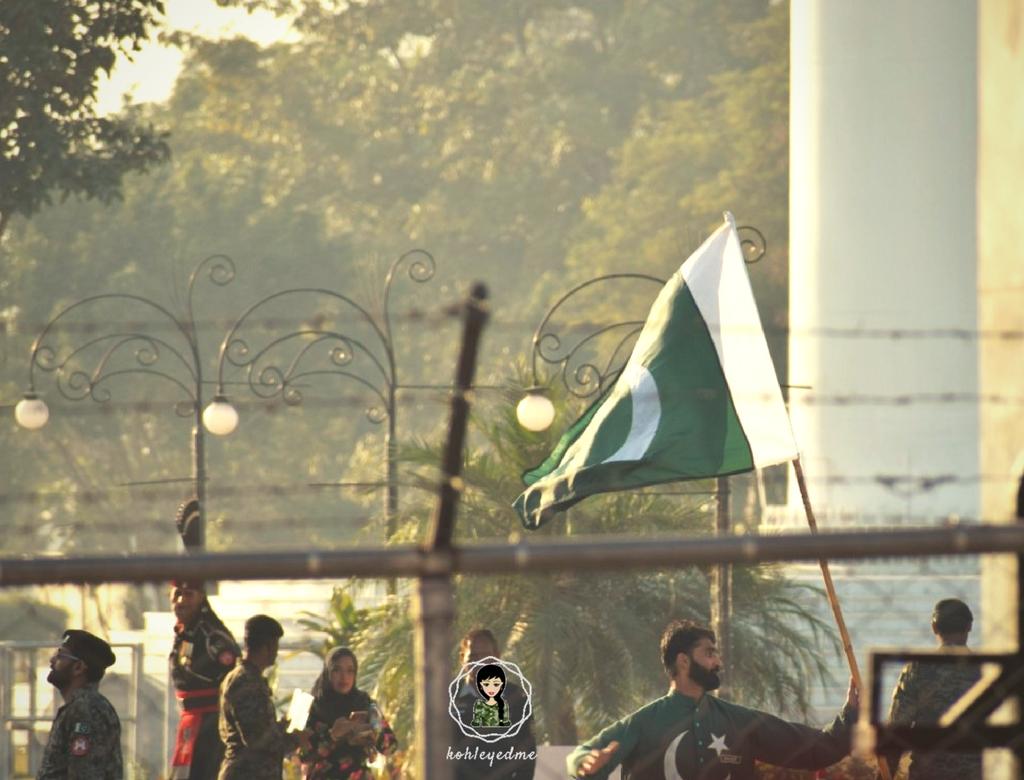 Wagah Border Ceremony Pakistan kohleyedme.com
