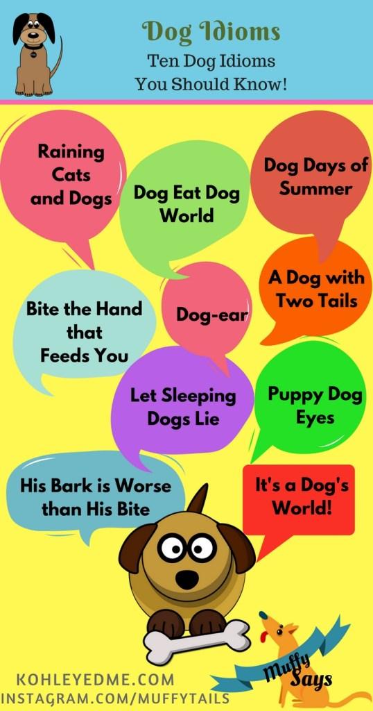 Dog Idioms Pinterest kohleyedme.com