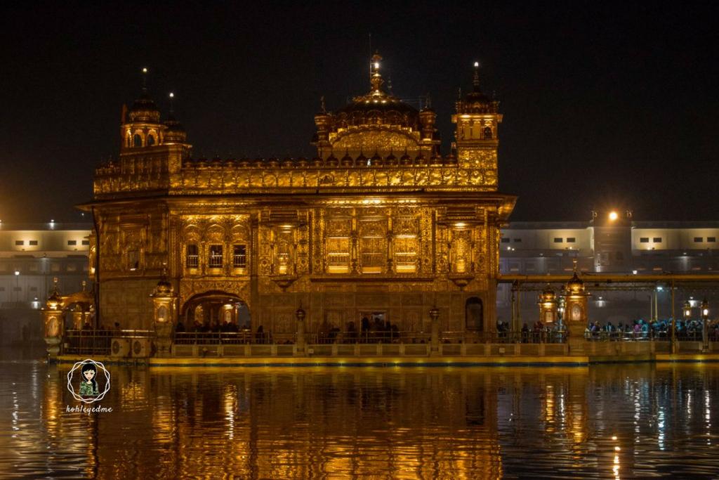 Golden Temple at night kohleyedme.com