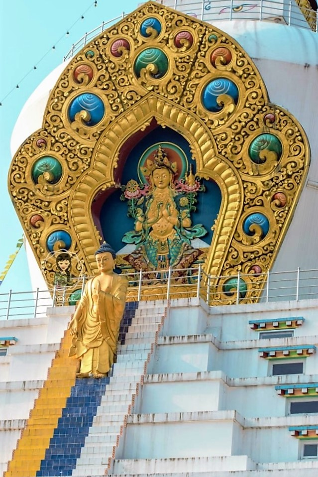 Descent of  Buddha from Devloka Mindrolling