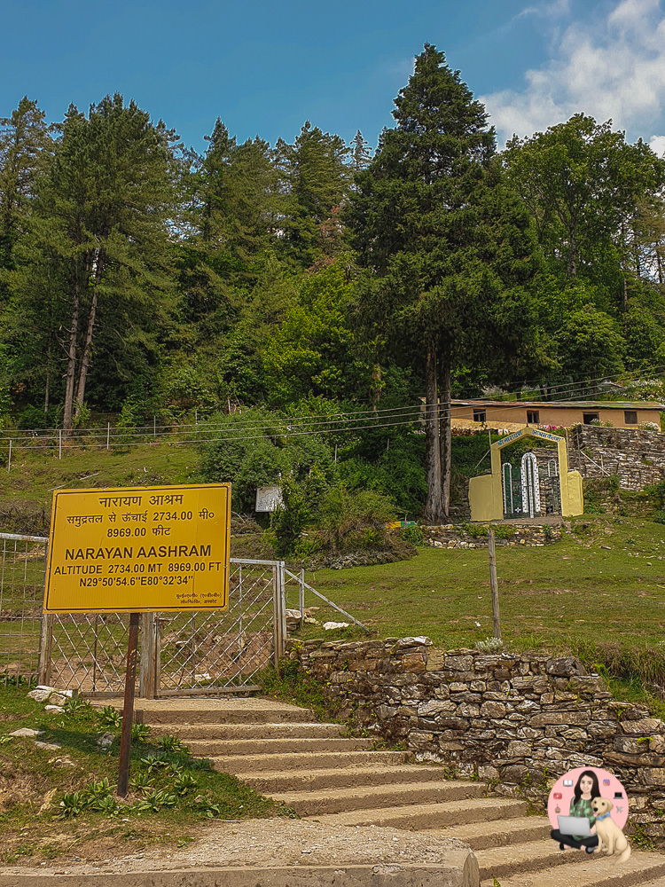 Found by Narayan Swami in 1946, Narayan Ashram in Dharchula is surrounded by Panchachuli mountain ranges