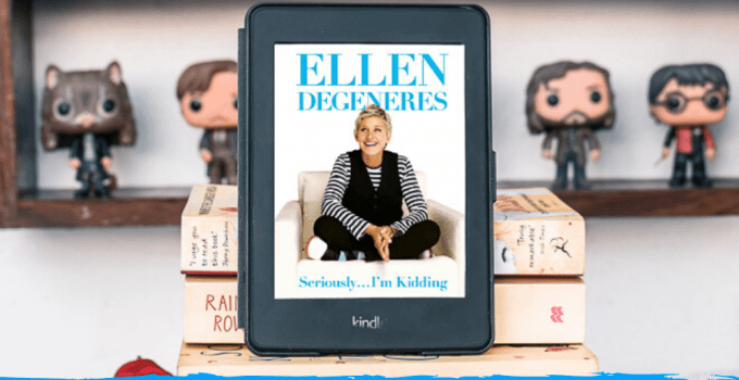 Ellen DeGeneres: Seriously… I'm Kidding ~Book Review
