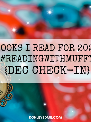 books i read for 2020 reading with muffy december check in post