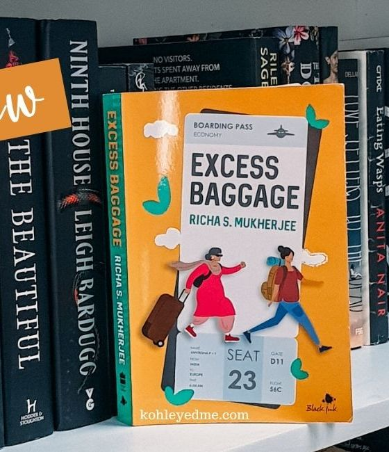 excess baggage by richa s mukherjee book review book cover