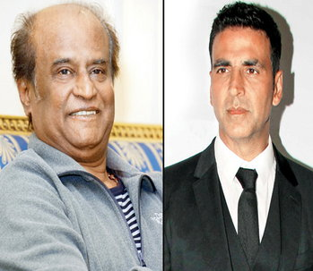 Akshay said, Rajni sir did not dare ask for the phone number