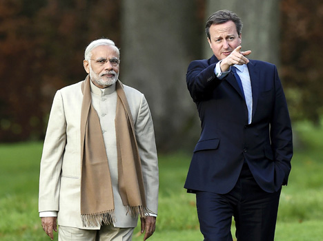 India continued financial support from the UK's 78-year closing today
