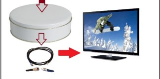 Home Made HDTV dish antenna and watch channel free