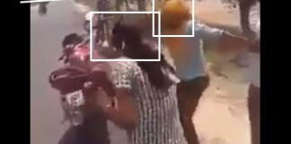 anti romeo squad beating women badly
