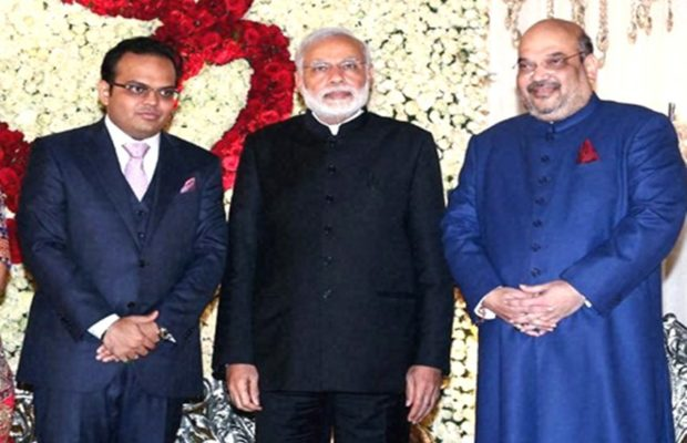 amit shah with pm modi and son jay shah 620x400