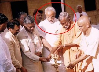 narendra modi with swami aseemanand