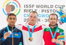 issf world cup rifle/pistol/shotgun 2018 changwon, kor final 10m air pistol men