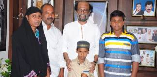 rajinikanth yasin family pic