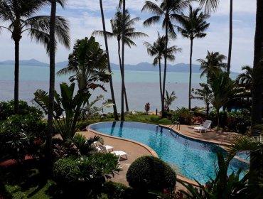 P4 Coconut Paradise Beachside Thai Style Wooden Villa
