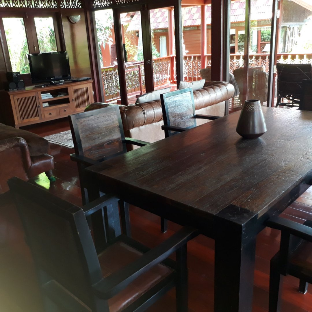 P4 Coconut Paradise Beachside Thai Style Wooden Villa