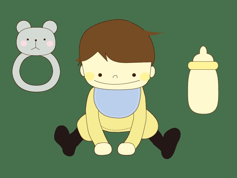 8ヶ月の赤ちゃんがミルク飲まない原因や対処方法についてご紹介