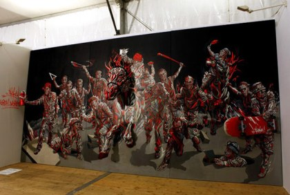 3D Painting by Shaka
