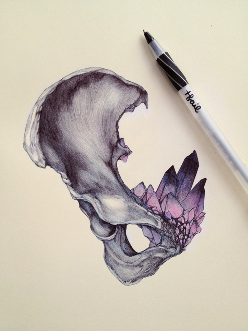 Gorgeous artworks by T.S. Claire