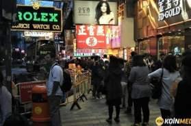 Hong Kong blockchain ticaret platformu