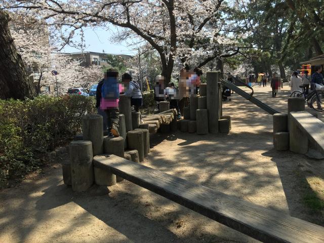 夙川公園遊具