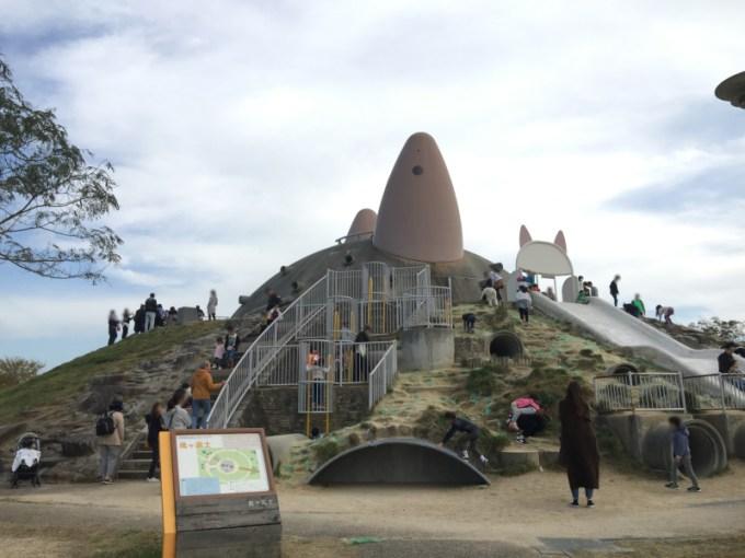 鬼ケ富士の滑り台