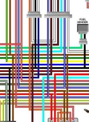 Yamaha XJ550, XJ600, XJ650 Colour Wiring Loom Diagrams
