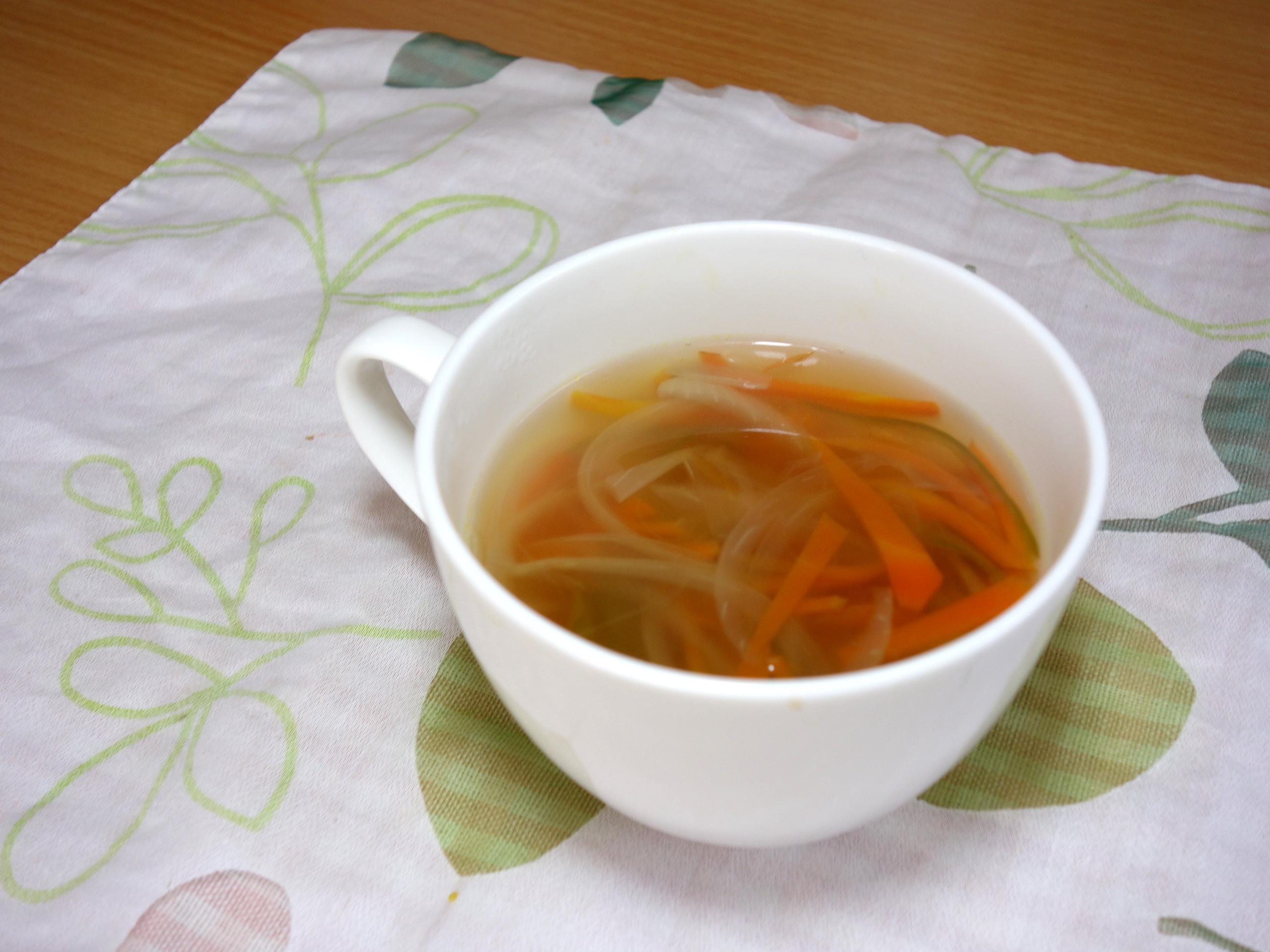 せん切りスープ,野菜スープ,コンソメ