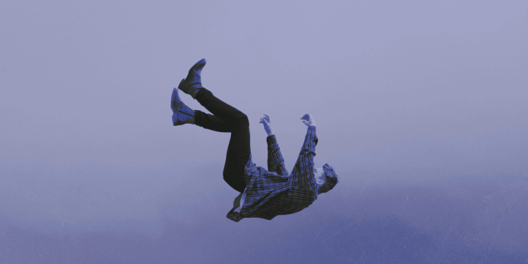 What DOES happen when a man falls from the sky?