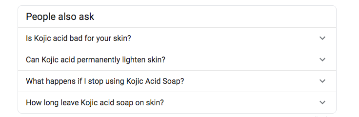 kojic acid soap top questions