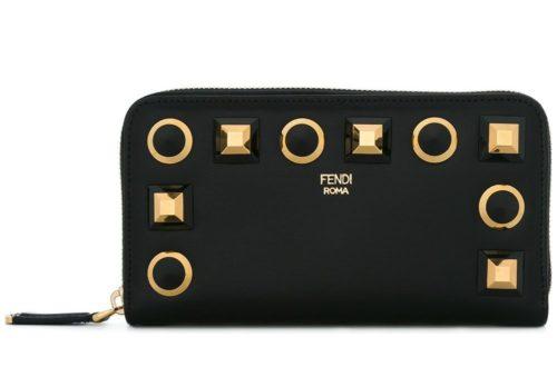 FENDI ファスナー 長財布