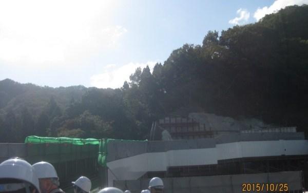 八鹿日高道路 久斗トンネル見学会