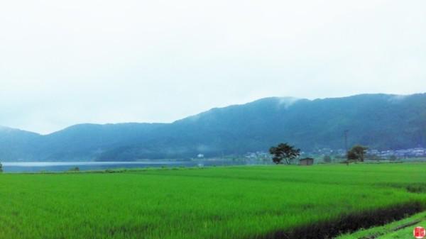 夜明けとともに滋賀県長浜市の神社巡り