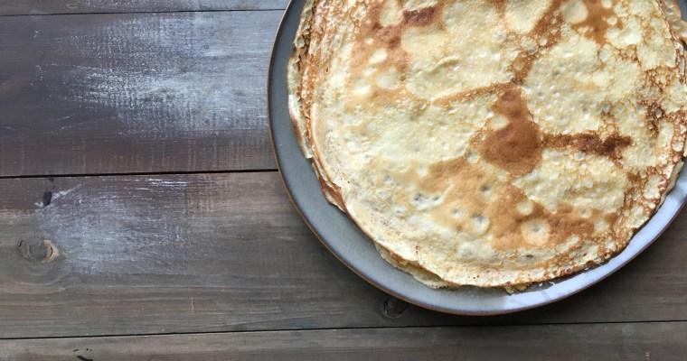 Fluweel zachte pannenkoeken