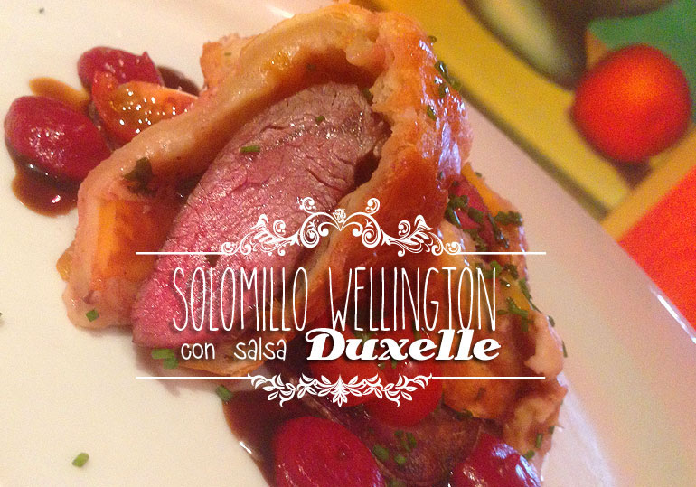 Solomillo Wellington
