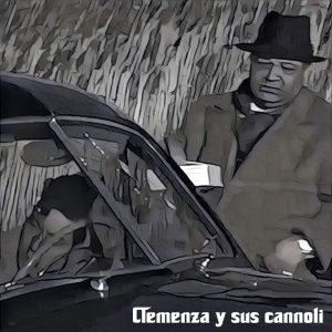 Clemenza cogiendo sus cannoli en la escena del Padrino de Coppola
