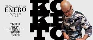 Newsletter enero 2018 Chef koketo