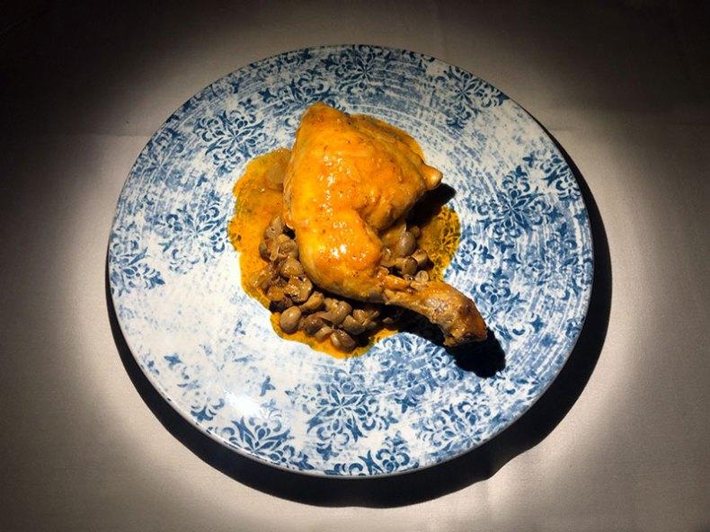 Pollo marengo. Chef Koketo