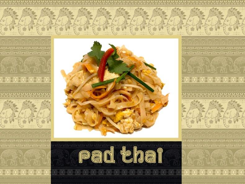 Pad Thai chefkoketo con galanga