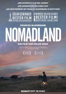 """Plakat """"Nomadland"""""""