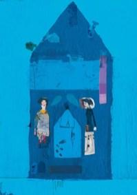 Μυρτώ Δεληβοριά: Άτιτλο, 2015. Από την εικονογράφηση του βιβλίου της Αλεξάνδρας Μητσιάλη, «Να με Αντέχεις», εκδ. Παπαδόπουλος, 2015. «Δημιουργία, φως, χρώματα, ηρεμία, καταφύγιο, ιδιωτικότητα, ταινίες αγκαλιά στον καναπέ. Όλα αυτά σημαίνουν σπίτι.»
