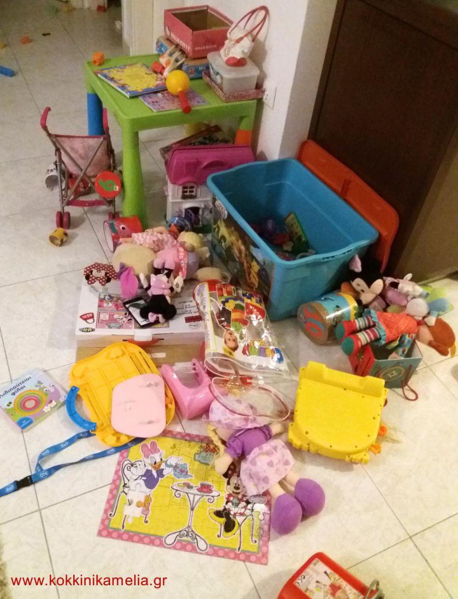 Για ποιους λόγους δε θέλω να έχουν πολλά παιχνίδια τα παιδιά μου