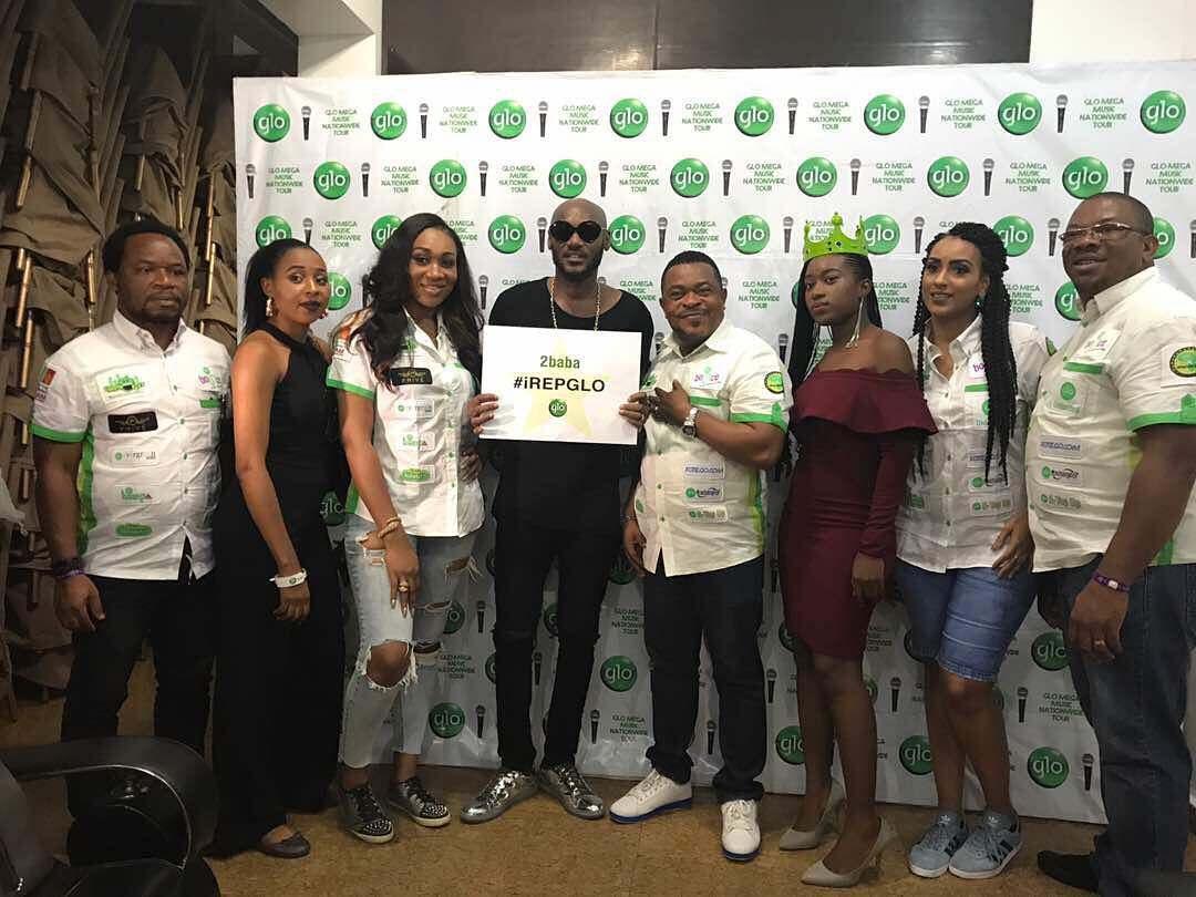 2Face Idibia Unveiled As GLO Latest Ambassador